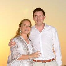 couple sunset beach cropped family safari