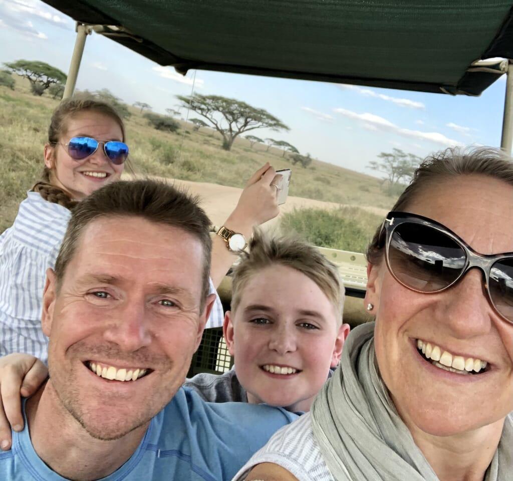 Tanzania family safari Kahl family