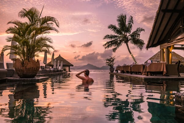 La Digue family holidays Seychelles pool