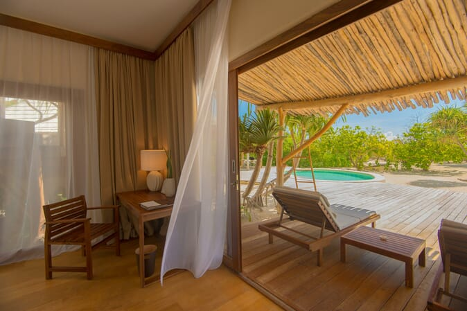 Tanzania Zanzibar White Sands Luxury Villas family safari luxury villa room