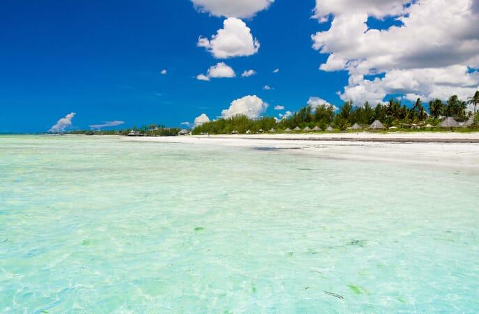 Tanzania Zanzibar White Sands Luxury Villas family safari ocean view beach
