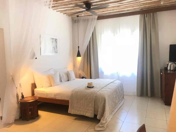 Tanzania Zanzibar White Sands Luxury Villas family safari cinnamon double room