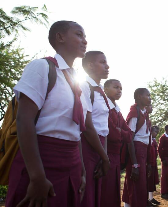 girl education African safari specialists