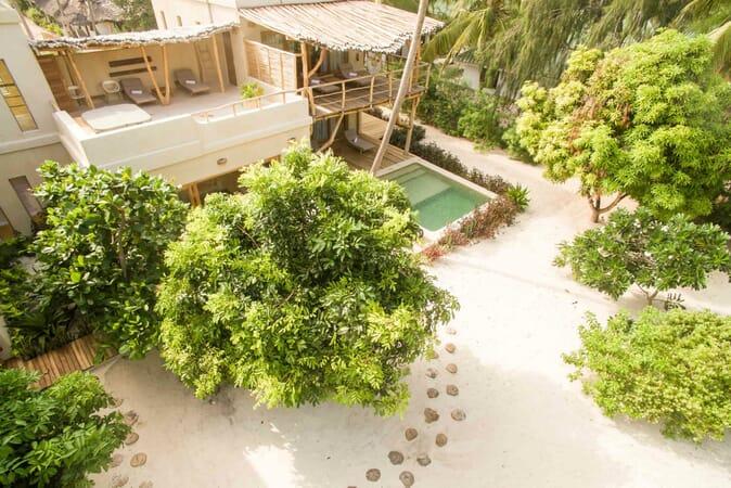 Tanzania Zanzibar White Sands Luxury Villas family safari five bed villa