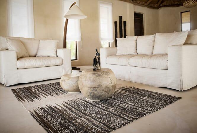 Tanzania Zanzibar White Sands Luxury Villas family safari living room