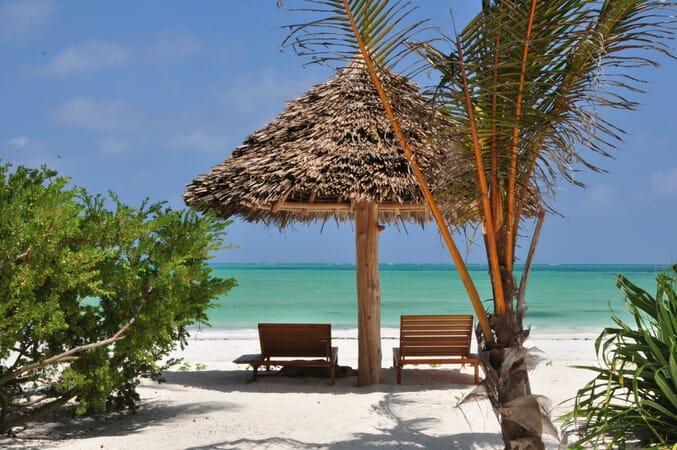 Tanzania Zanzibar White Sands Luxury Villas family safari lounge chairs