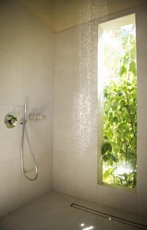 Tanzania Zanzibar White Sands Luxury Villas family safari rain shower