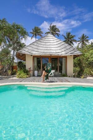 Tanzania Zanzibar White Sands Luxury Villas family safari pool relaxation