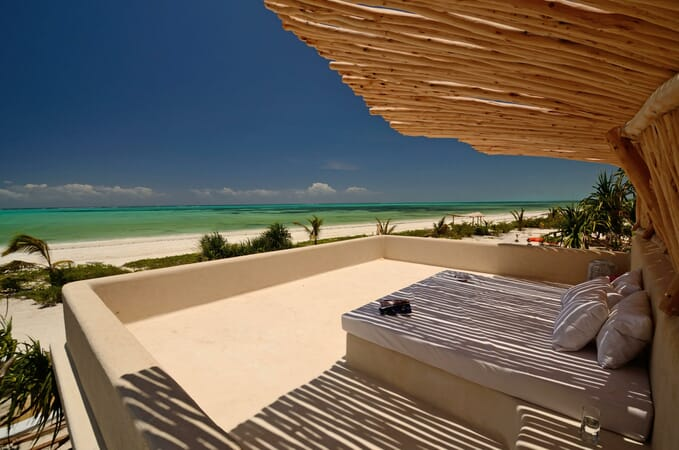 Tanzania Zanzibar White Sands Luxury Villas family safari rooftop terrace