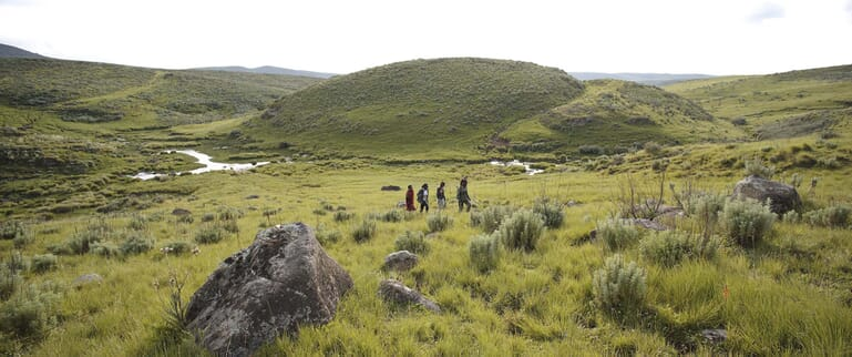 Highlands Ngorongoro walking Olmoti gorge Tanzania family safari