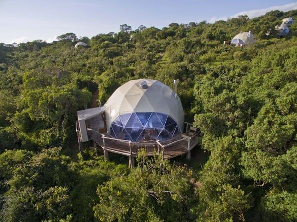 Highlands Ngorongoro dome tent exterior Tanzania family safari