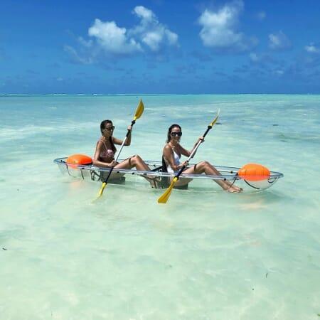 Tanzania Zanzibar White Sands Luxury Villas family safari kayak