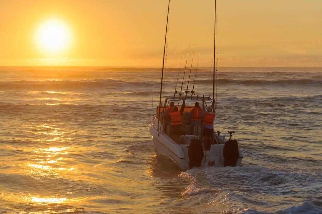 Africa deep sea charter sunrise Indian Ocean