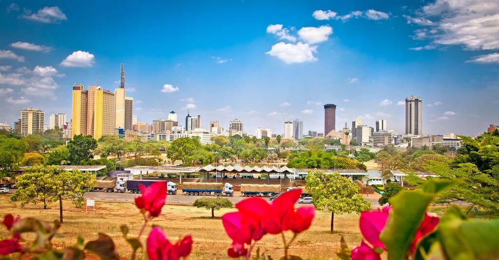 Kenya Nairobi landscape view family safari