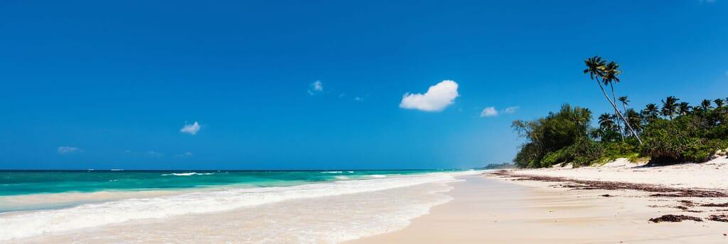 Kenya Diana beach landscape family safari beach holiday