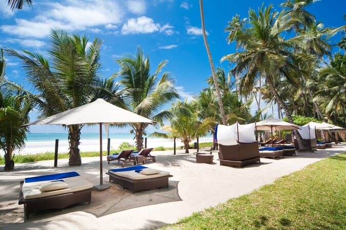 Kenya Coast Diani Almanara luxury villas family beach holiday