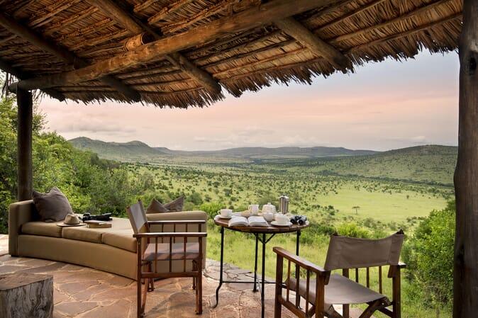 Tanzania Serengeti andBeyond Klein's Camp family safari cottage exterior