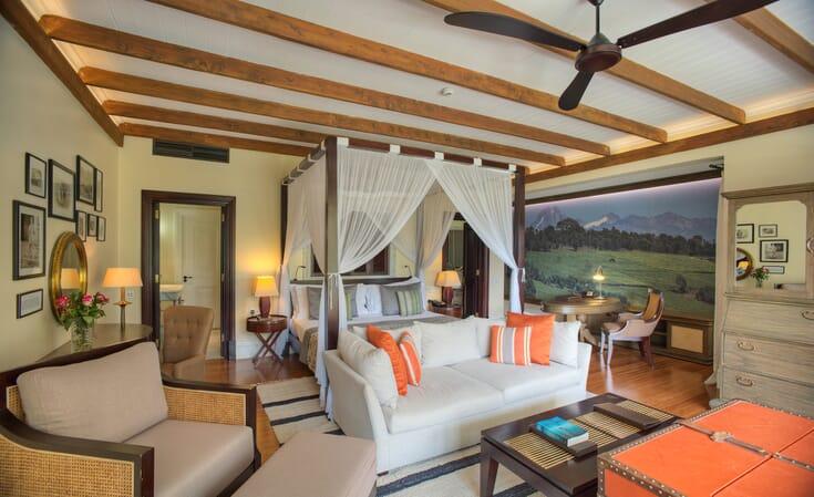 Kenya Nairobi Hemingways family safari deluxe suite