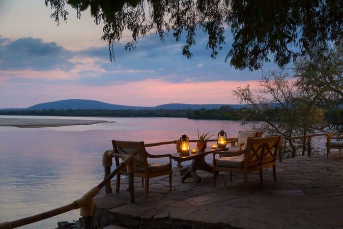 Tanzania Nyerere Sand Rivers Selous family safari evening