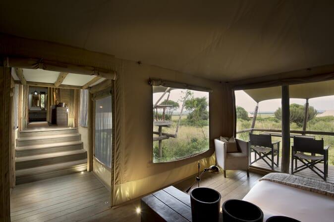 Kenya Masai Mara Kichwa Tembo family tent safari