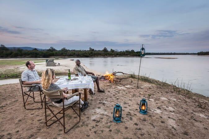 Tanzania Nyerere Sand Rivers Selous family safari fly camp