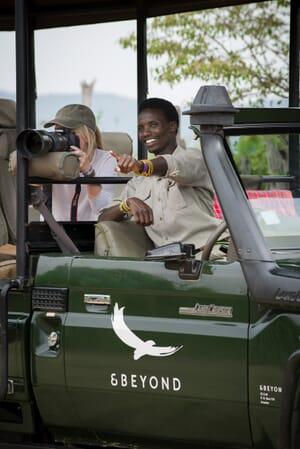 Tanzania Serengeti Kleins Camp game drive family safari