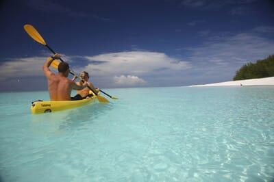 Tanzania Zanzibar Mnemba family safari kayak