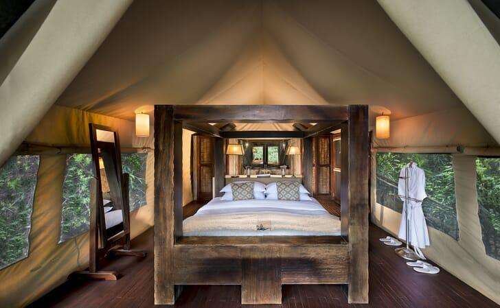 Kenya Masai Mara Kichwa Tembo classic tent family safari