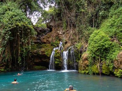 Kenya Lewa House Ngare Ndare waterfalls family safari