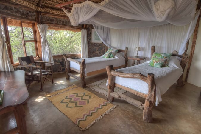 Kenya Lewa House family room safari