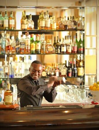 Kenya Nairobi Hemingways family safari mixologist bar