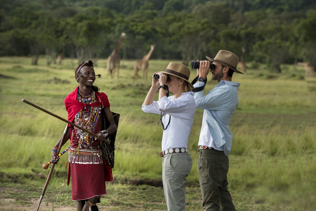 Kenya Masai Mara andbeyond Bateleur honeymoon