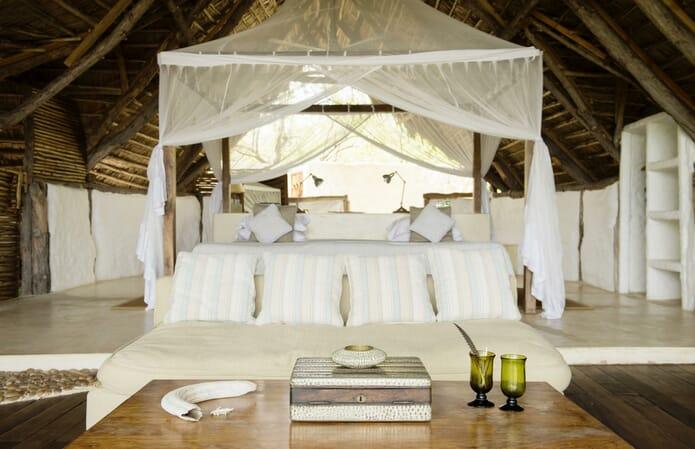 Tanzania Nyerere Sand Rivers Selous family safari room