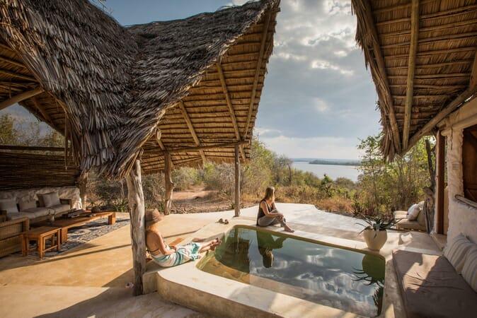 Tanzania Nyerere Sand Rivers Selous family safari suite