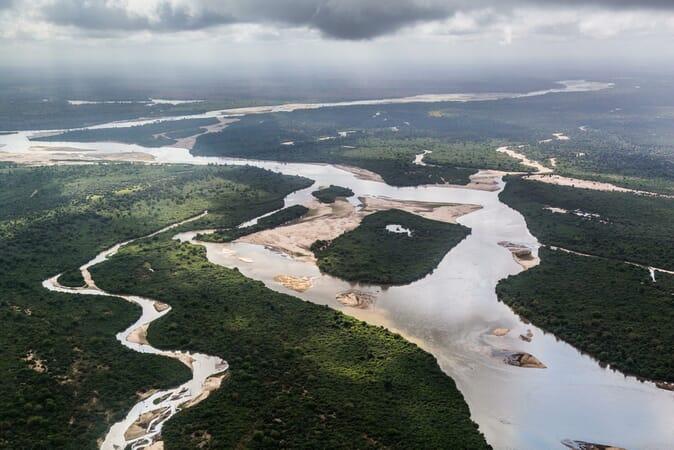 Tanzania Nyerere Sand Rivers Selous family safari Selous