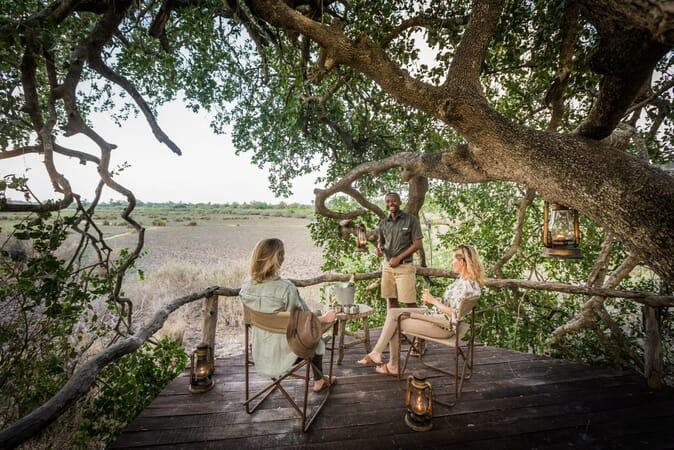 Tanzania Nyerere Sand Rivers Selous family safari hide