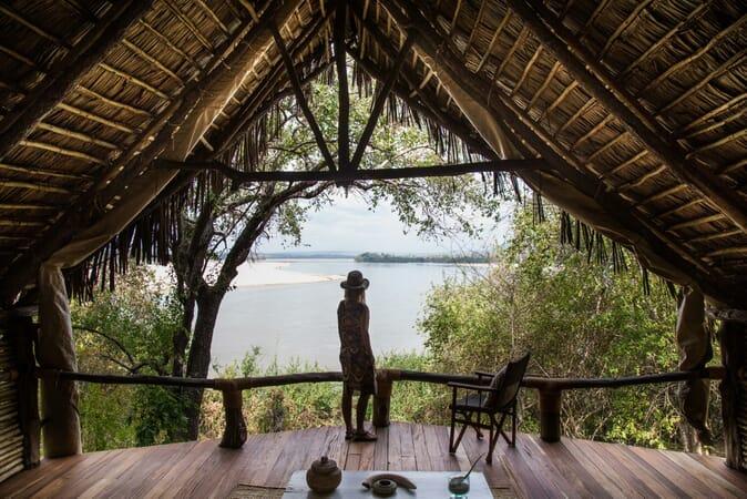 Tanzania Nyerere Sand Rivers Selous family safari view