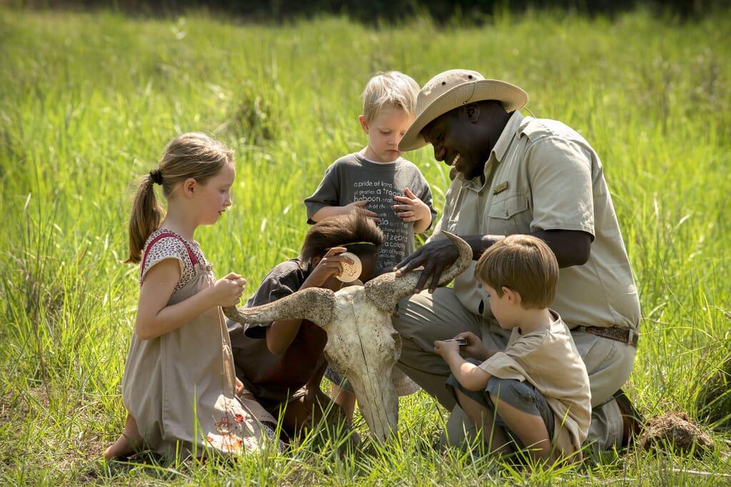 South Africa Phinda Wildchild children kids family safari