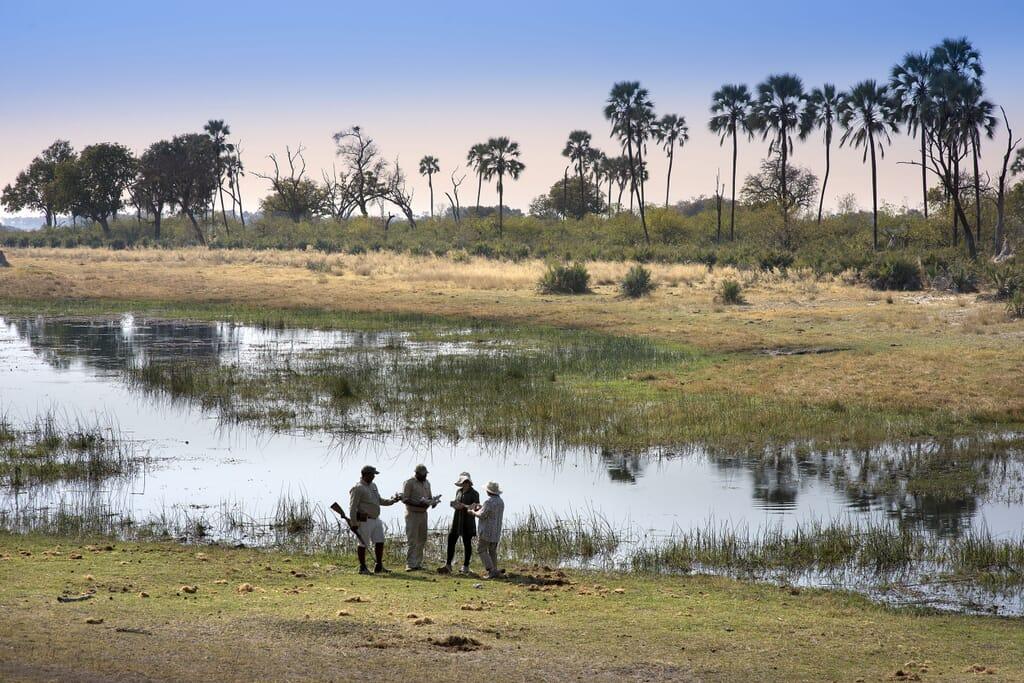 Botswana andBeyond Sandibe walking