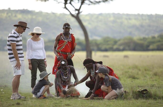 Kenya Masai Mara Kichwa Tembo wild child family safari