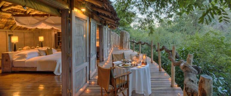 Tanzania Lake Manyara Tree Lodge family safari