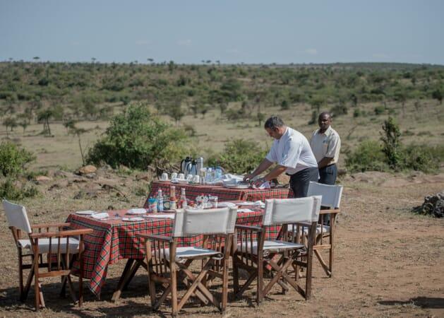 Kenya Masai Mara Hemingways Ol Seki family safari