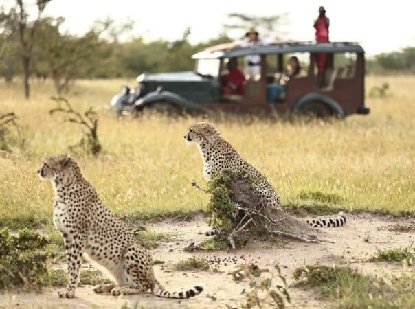 Kenya Masai Mara Cottar's 1920s family safari