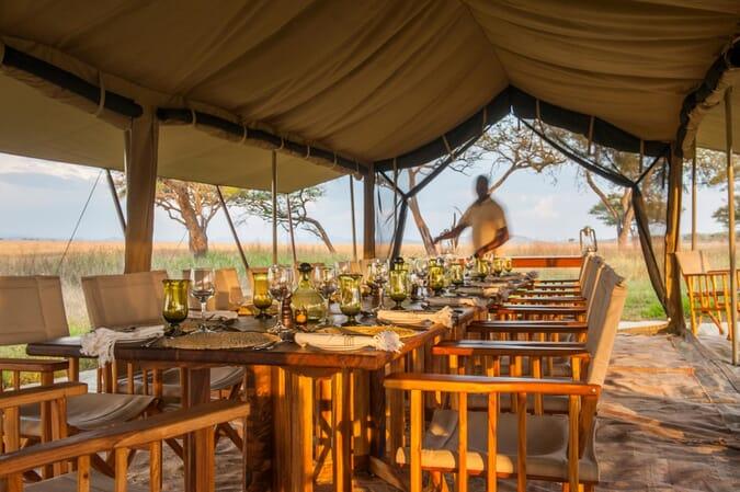Tanzania Nomad Serengeti safari camp family