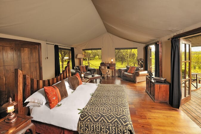 Tanzania Serengeti Elewana migration camp family safari