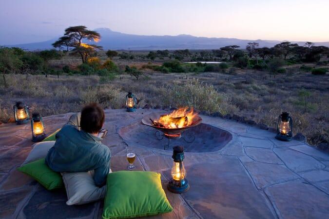 Kenya Amboseli elewana tortillis