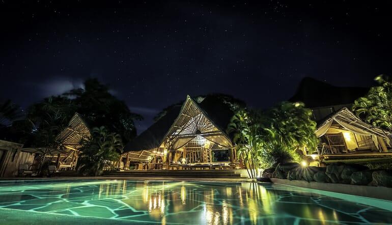 Kenya Diani Alfajiri villas night