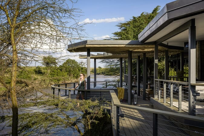 Kenya Masai Mara Sanctuary Olonana family safari