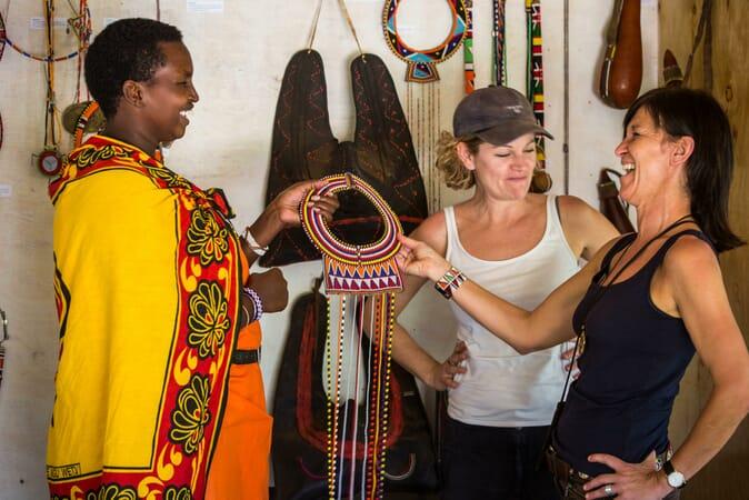 Kenya Masai Mara Karen Blixen Camp family safari