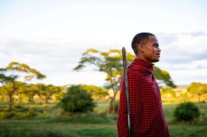 Tanzania Tarangire Sanctuary Swala family safari